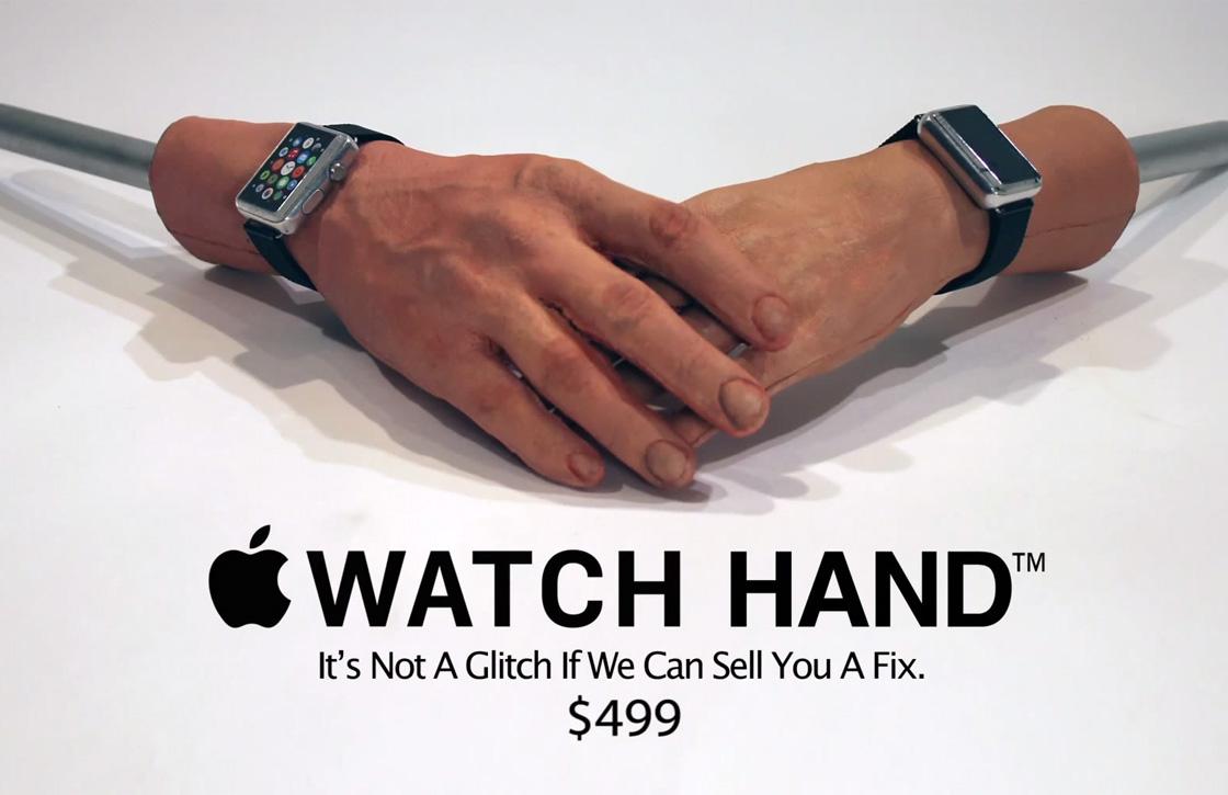 Video: dé oplossing voor het tatoeageprobleem van de Apple Watch