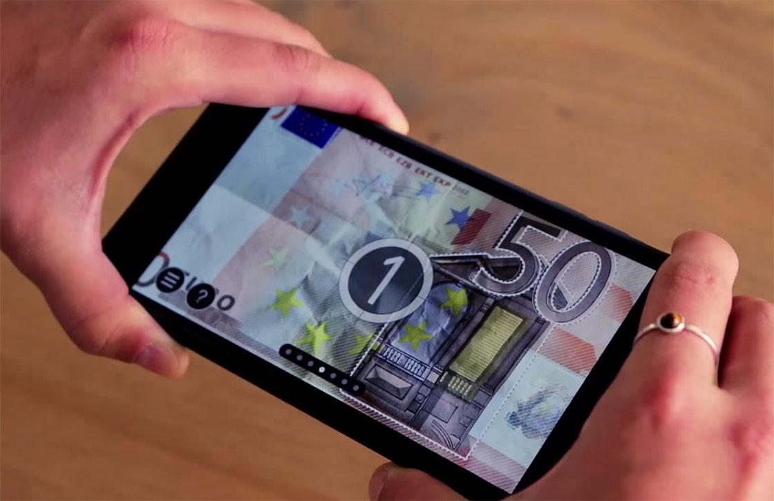 Echt of Vals: app om eurobiljetten te controleren vernieuwd