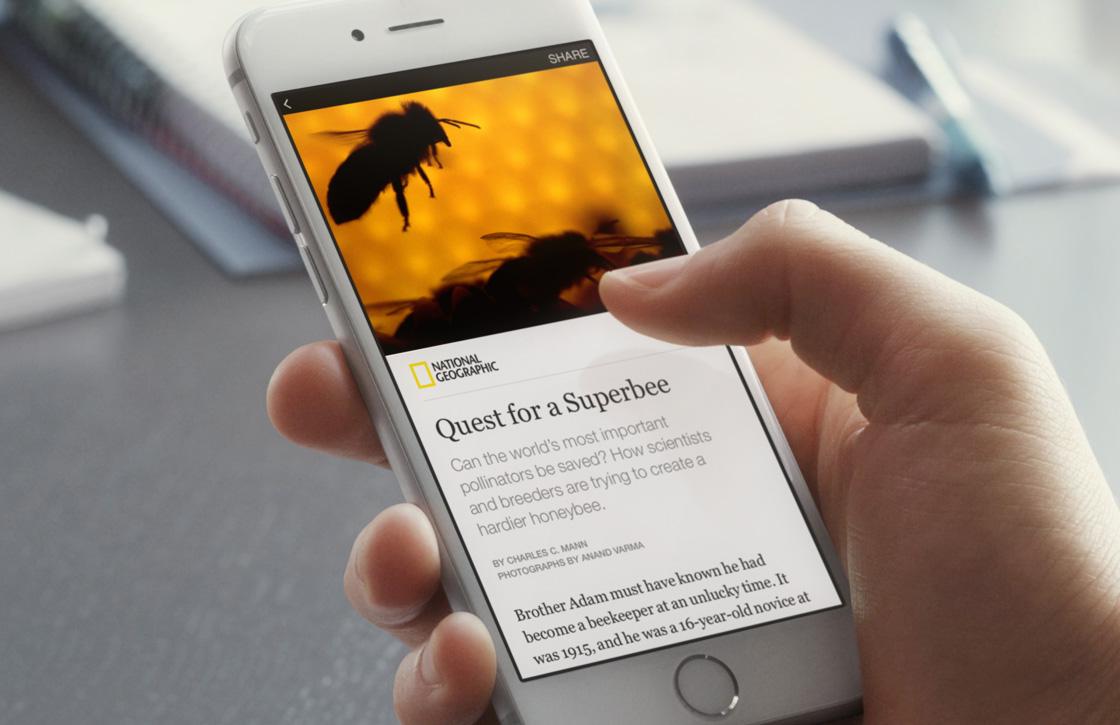 Facebook laat gebruikers artikelen lezen in eigen app
