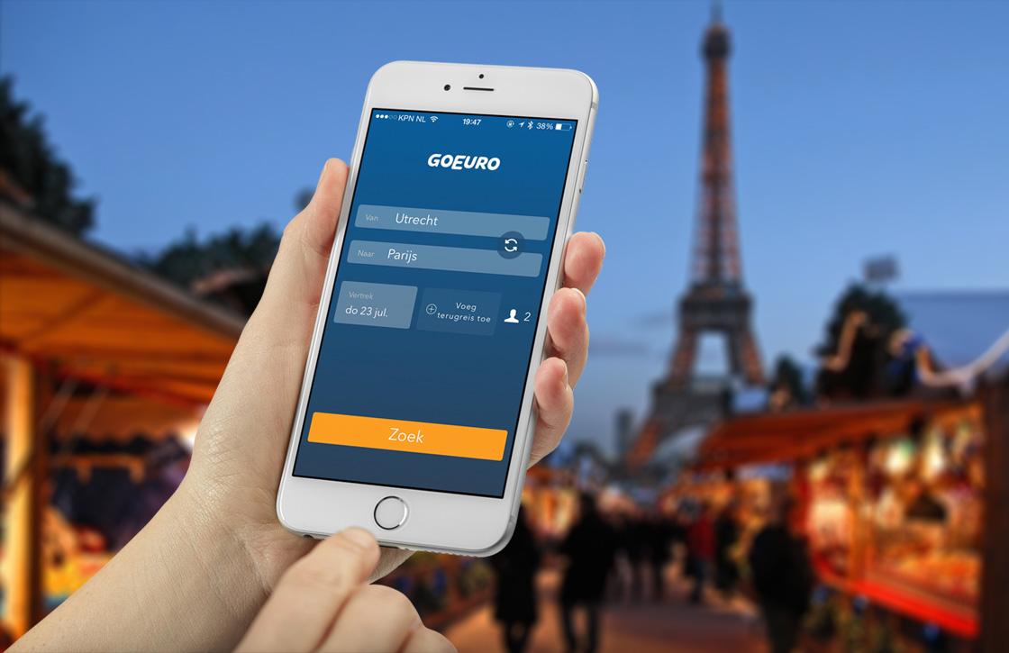 GoEuro: simpel reizen plannen door heel Europa