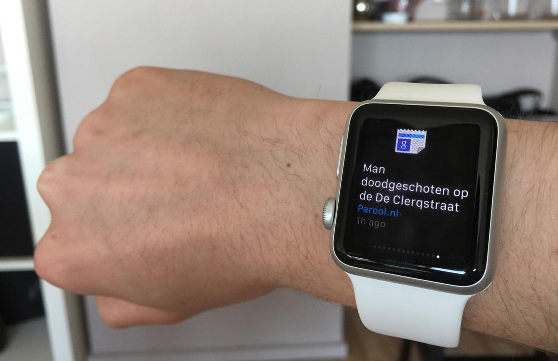 Dit is Googles eerste app voor de Apple Watch