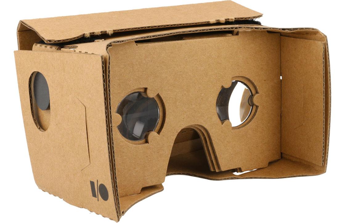 Google's kartonnen virtual reality-bril werkt nu ook met iOS