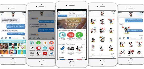 Apple brengt geanimeerde stickers uit voor iOS 10