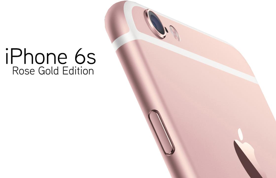 'Meer werkgeheugen, betere camera en nieuwe kleur voor iPhone 6S'
