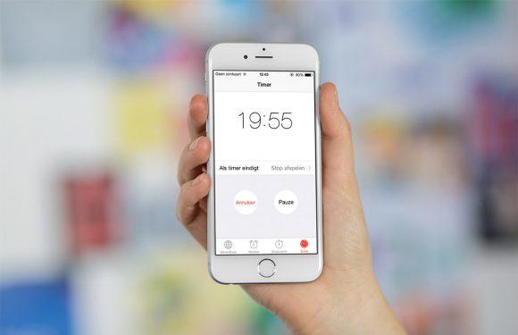In 3 stappen de iPhone timer gebruiken voor muziek