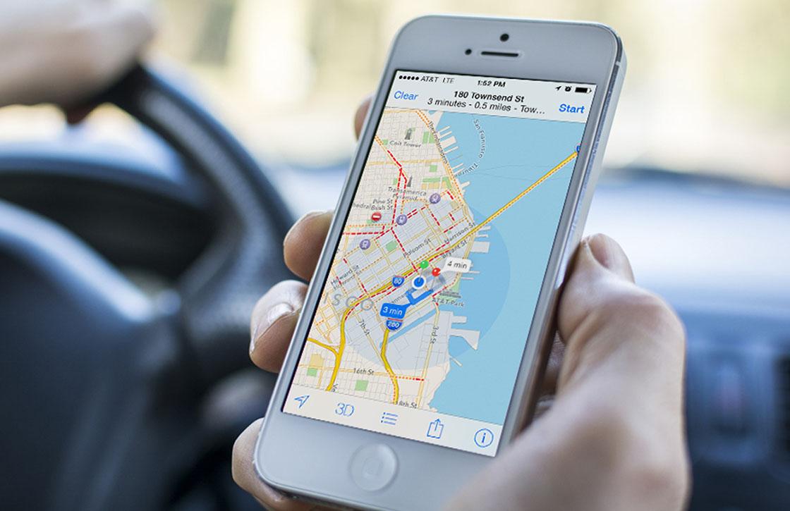 'Kaarten-app krijgt functies voor openbaar vervoer in iOS 9'