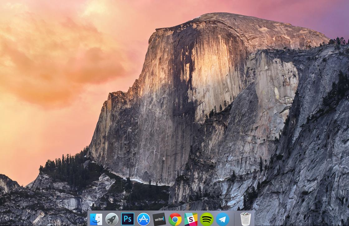 3 manieren om snel naar het bureaublad van de Mac te schakelen