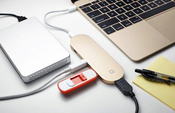 Deze slimme MacBook adapter geeft je 6 extra poorten