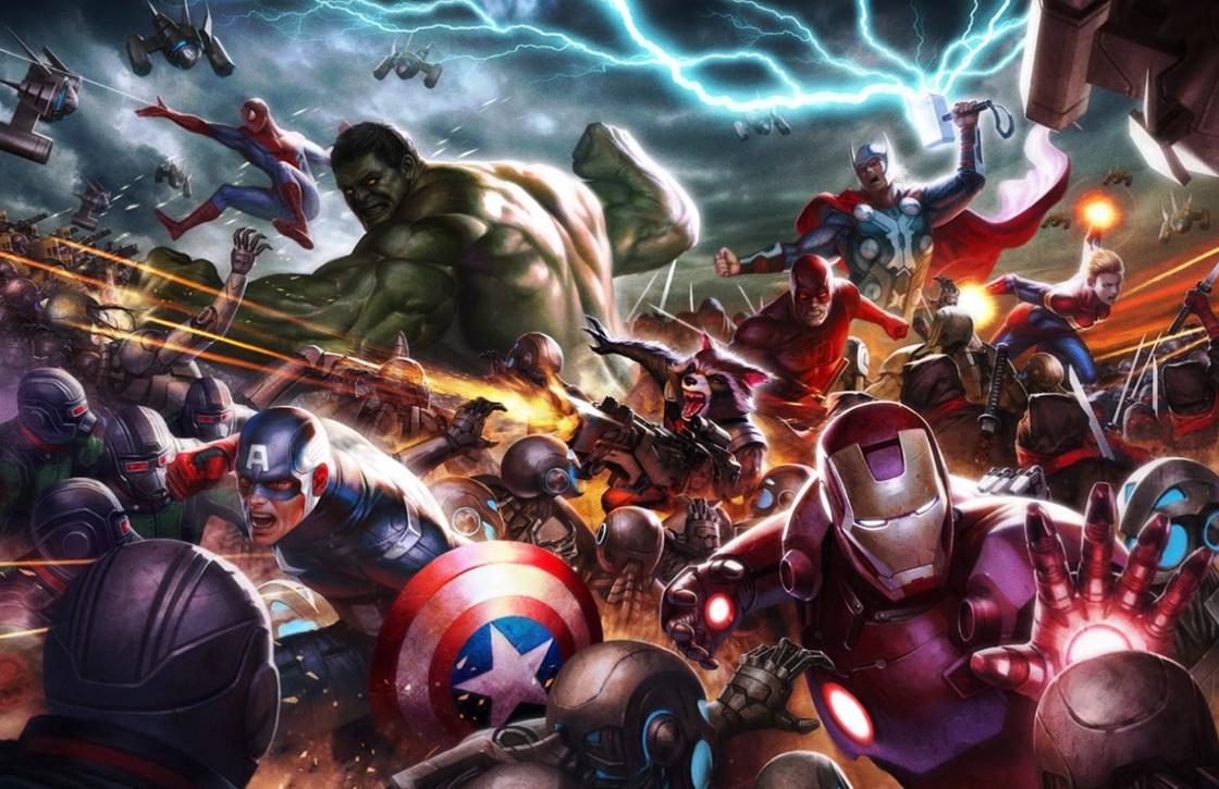 Knok met The Avengers in Marvel Future Fight