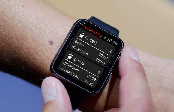 Nederlandse app Railify toont treintijden op je Apple Watch