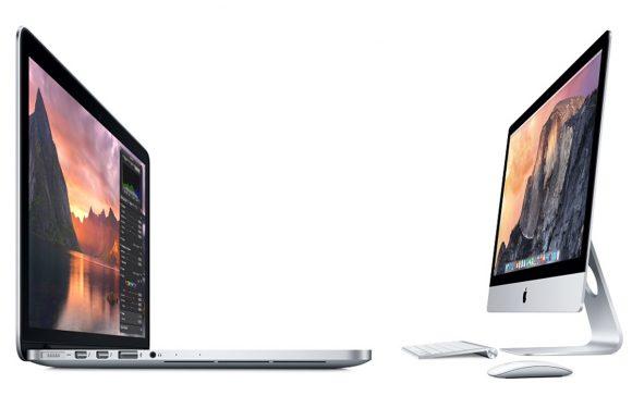 Apple komt met goedkopere Retina iMac en nieuwe 15-inch MacBook Pro