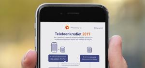 Infographic: Telefoonkrediet in 2017 uitgelegd