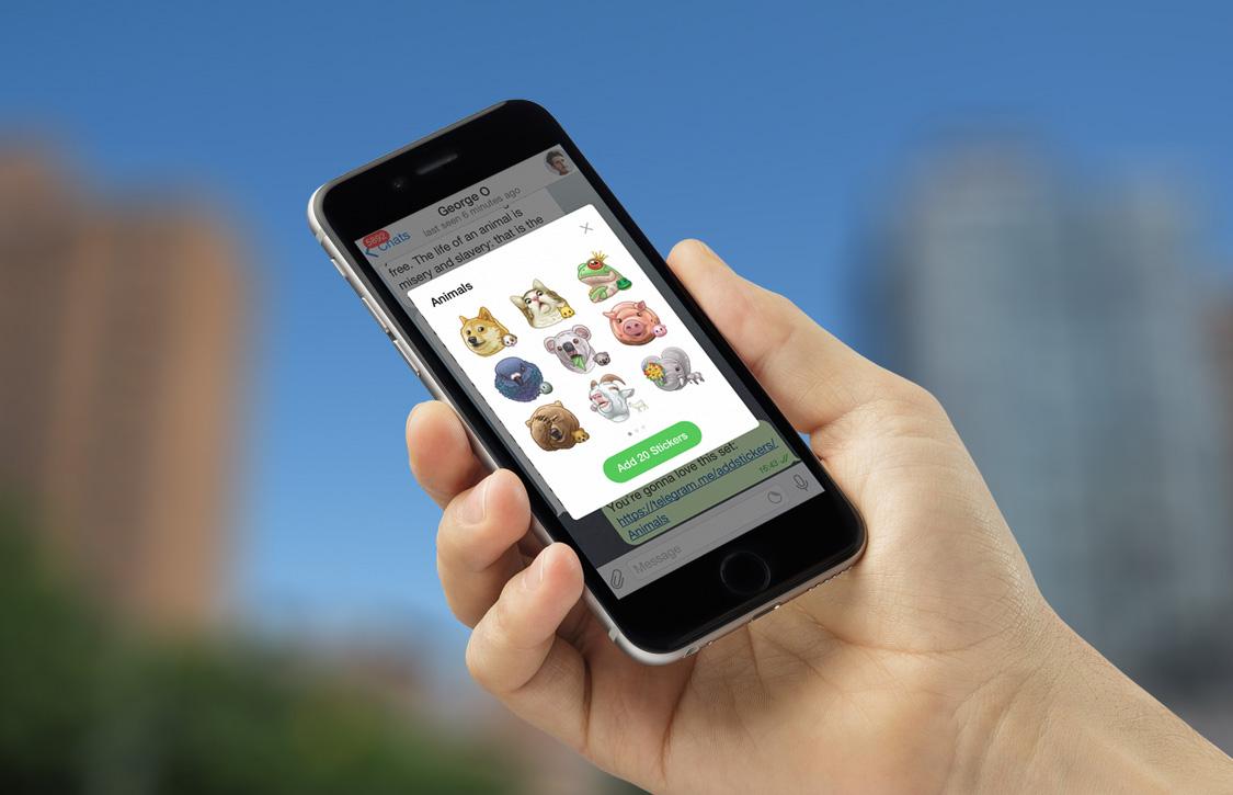 Telegram introduceert chatbots en Apple Watch-ondersteuning