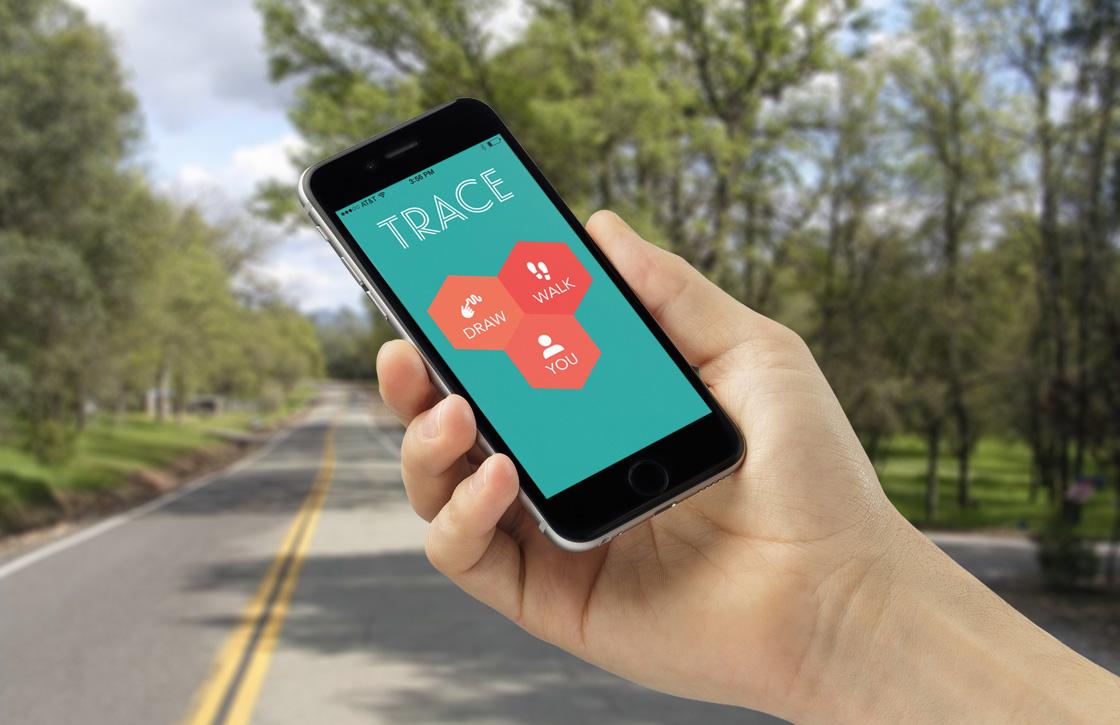 Motiveer wandelaars met geheime boodschappen dankzij Trace