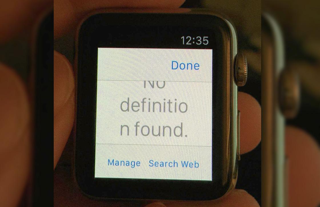 Video: Ontwikkelaar toont werkende webbrowser op Apple Watch