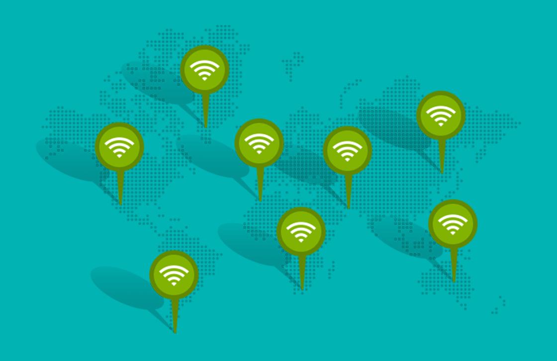 Ontdek gratis internet-spots met WifiMapper