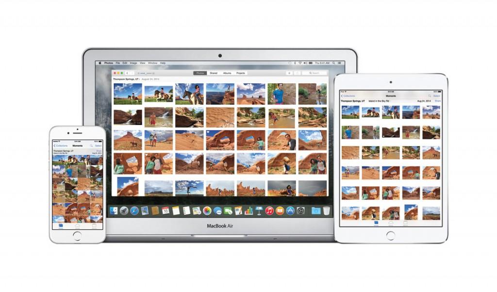 OS X El Capitan foto's