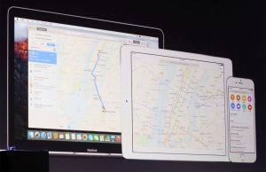 apple maps transit