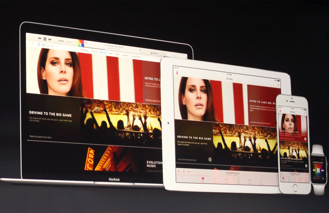 iOS 9 biedt ruimte voor 100.000 eigen liedjes in iTunes Match