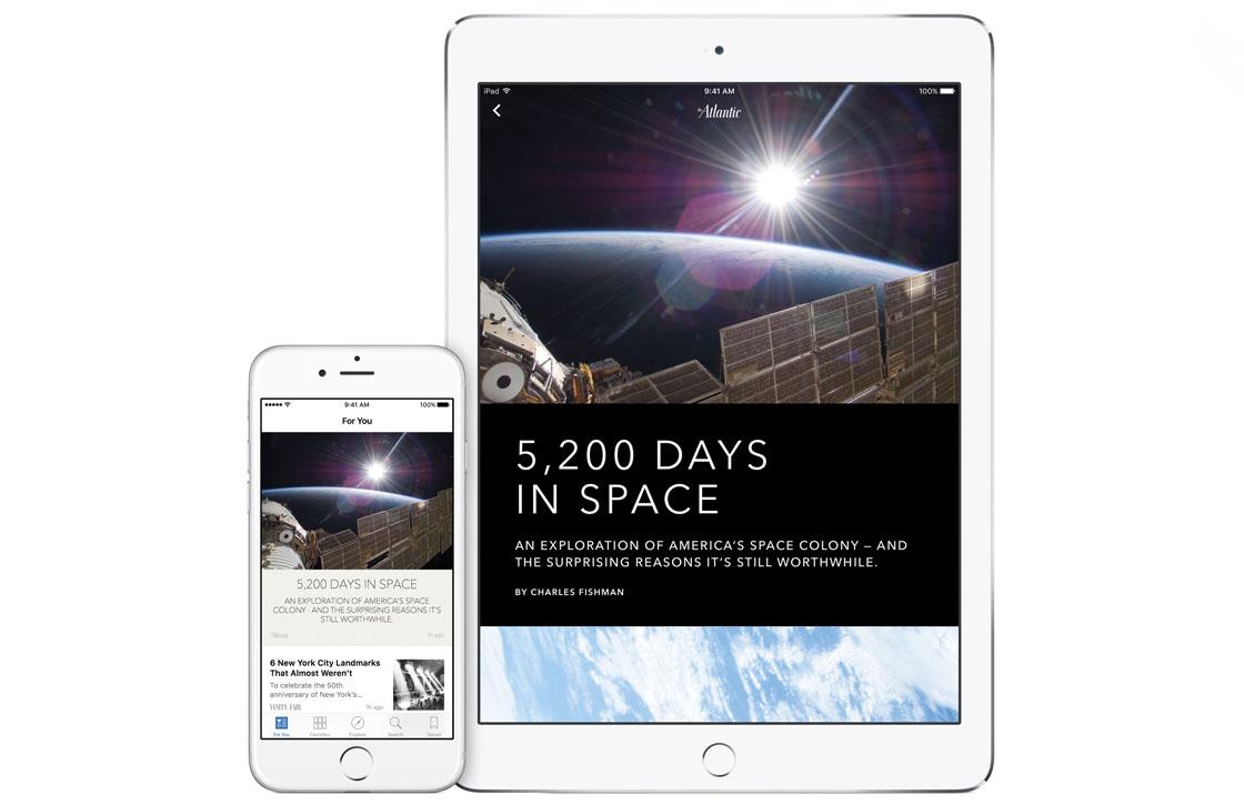 Apple nieuwsdienst
