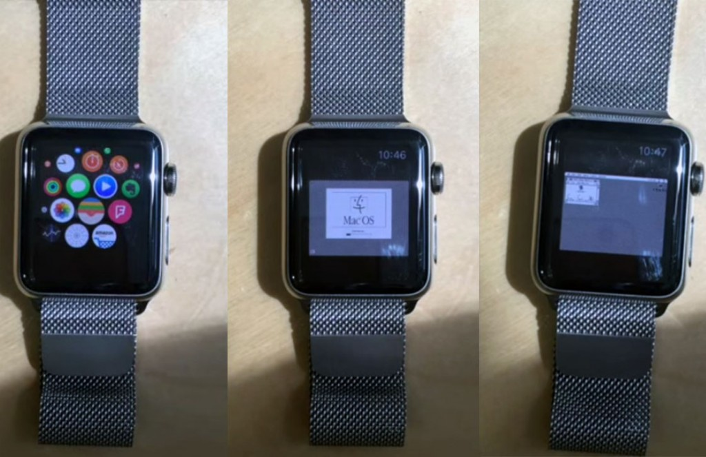 apple watch macintosh os