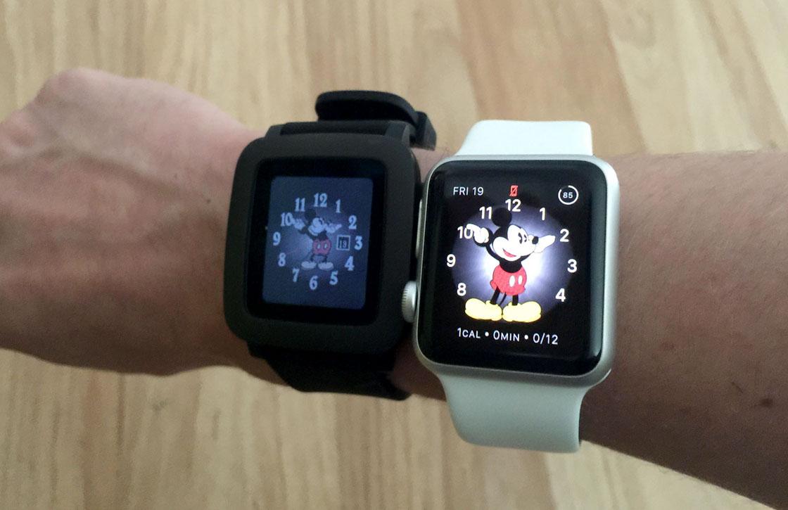 Apple Watch vs Pebble Time: welke verdient een plek om je pols?
