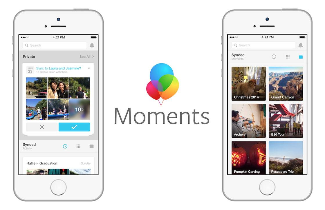 Dit moet je weten over de slimme foto-app Facebook Moments