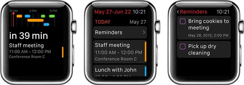 Fantastical 2 Apple Watch