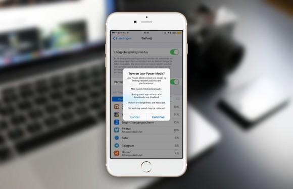 Accuduur in bètaversie iOS 9 drastisch afgenomen
