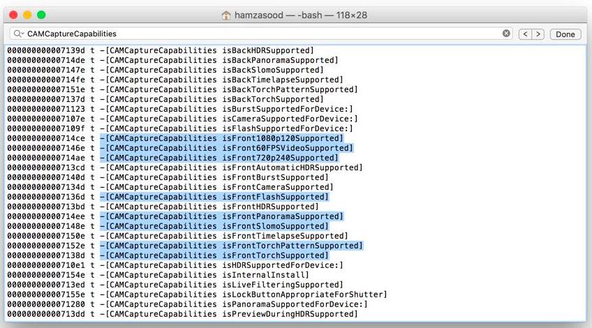 iOS 9 code