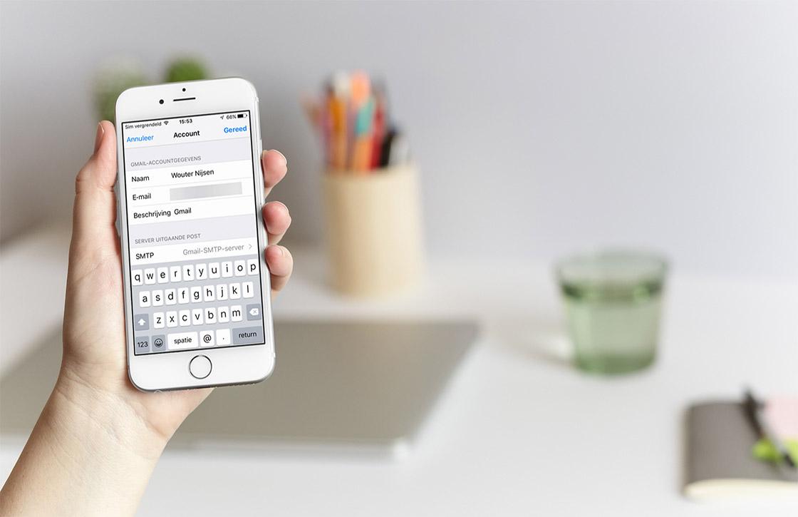 Tip: zo verander je je naam in de Mail-app van iOS
