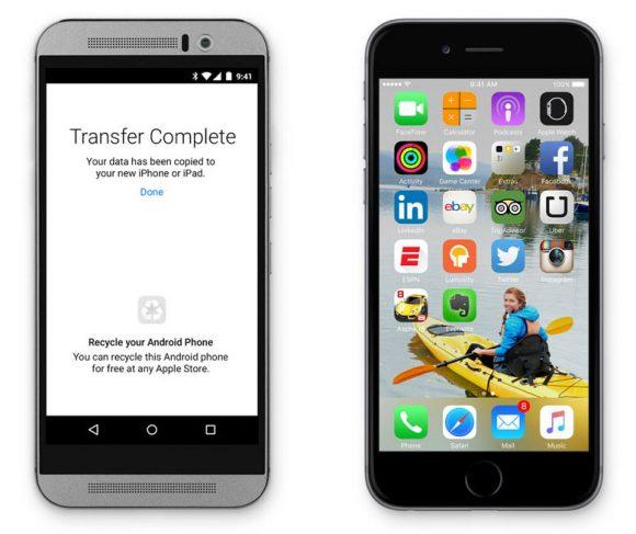 Android naar iOS