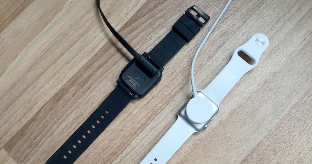 apple watch vs pebble time