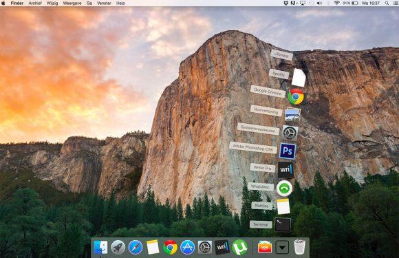 In 3 stappen recente apps aan het Dock van je Mac toevoegen