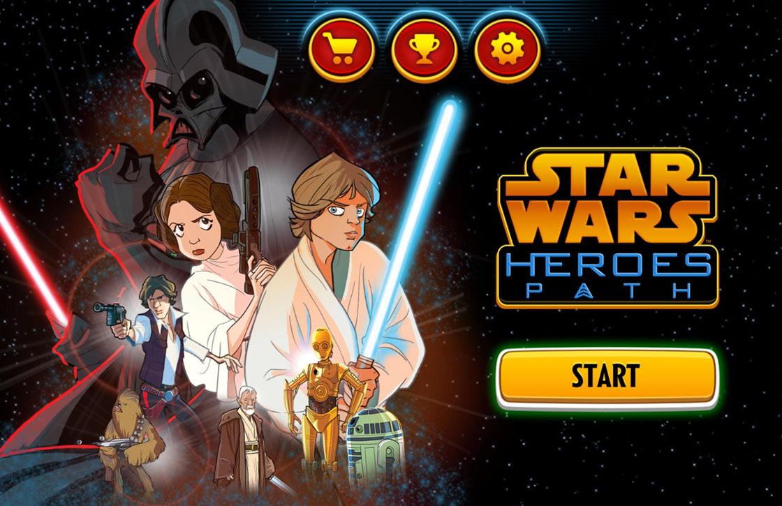 Star Wars Heroes Path: tof spel met vervelende in-app aankopen