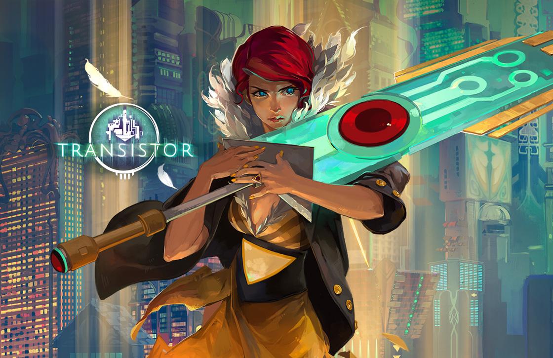 Laat je meeslepen in de science fiction-game Transistor