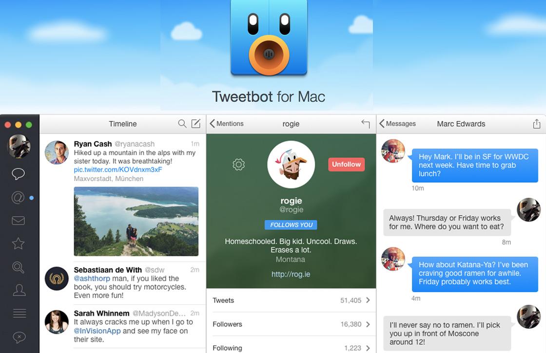 Tweetbot 2 maakt Twitter op de Mac weer sexy