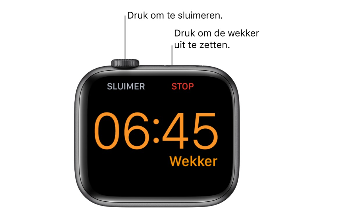 wekker apple watch 3