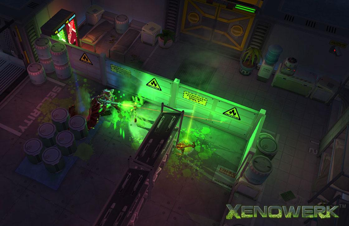 Xenowerk: kleurrijke schietgame in de ruimte