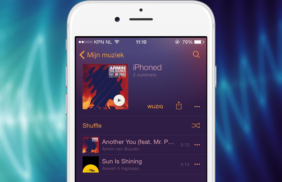 Zo stellen Apple Music en Spotify jouw persoonlijke afspeellijsten samen