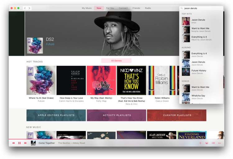 apple music concept
