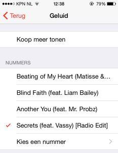 Apple Music wekker