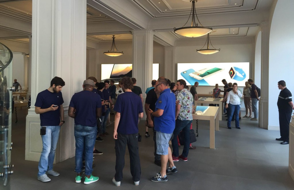 apple watch lancering