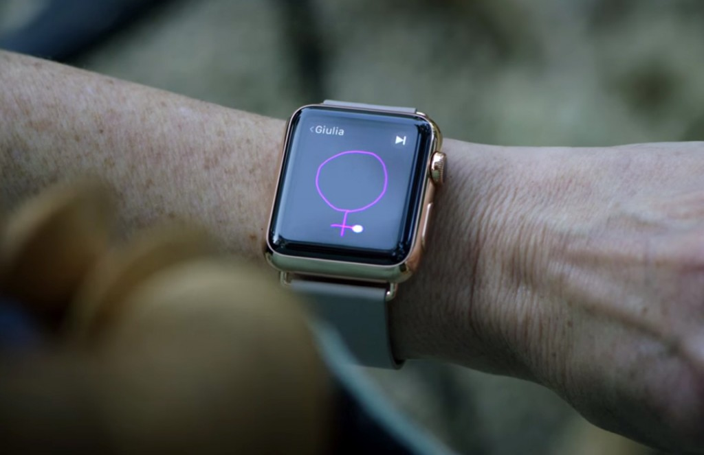 apple watch video's