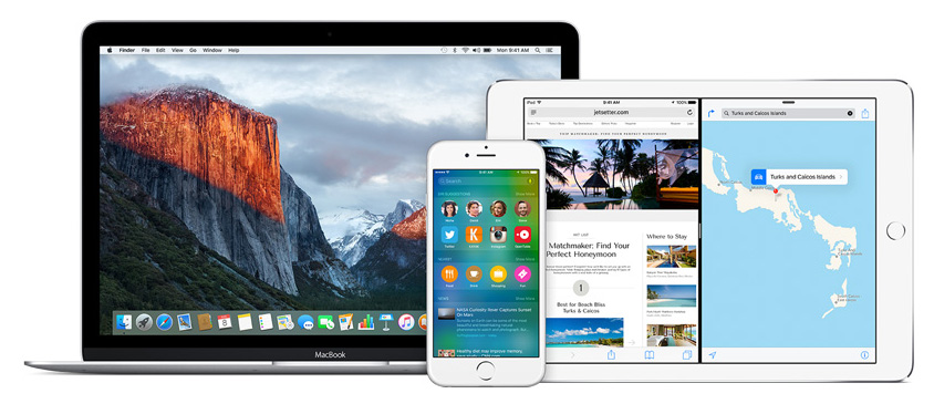 el capitan ios 9 beta
