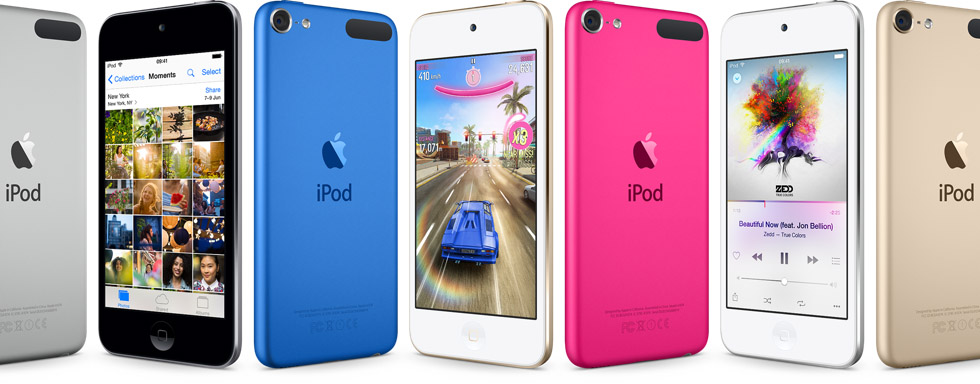 vernieuwde ipods ipod touch