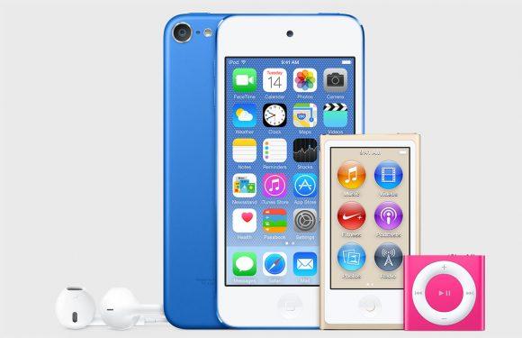 'Apple geeft iPod-lijn opfrisbeurt, betere specs voor iPod touch'