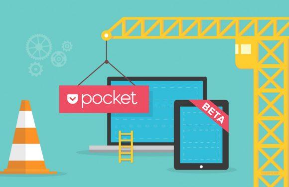 Pocket test aanbevelingen voor artikelen en video's in openbare bèta