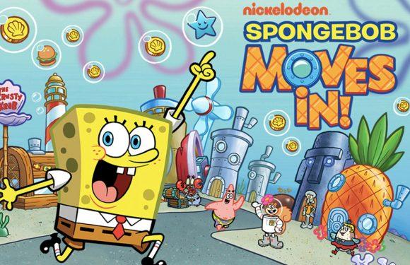 Bouw Spongebob's stad in de App van de Week