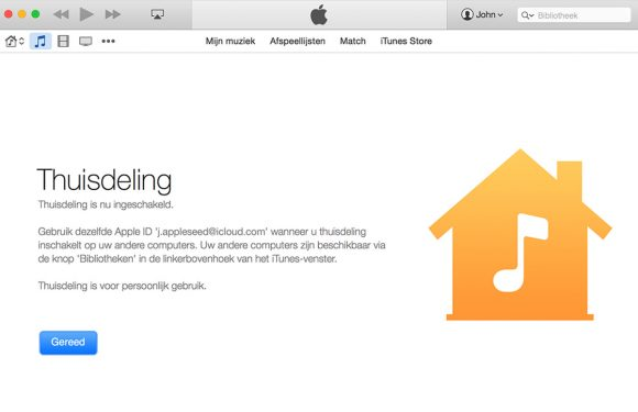 Nieuwe iOS 9 bèta brengt 'thuisdeling' terug